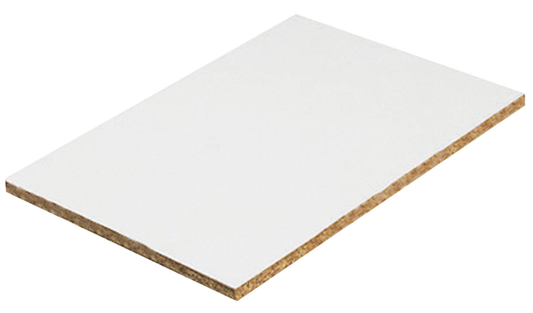 blanc ep 18 mm x l 250 x l 125 cm