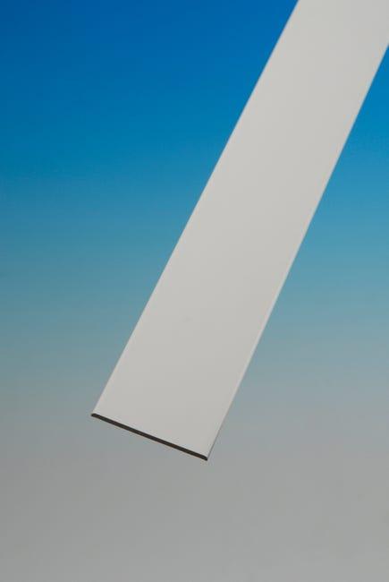 Plat Pvc 50 Ep2 5 Long 2 5m Blanc Leroy Merlin