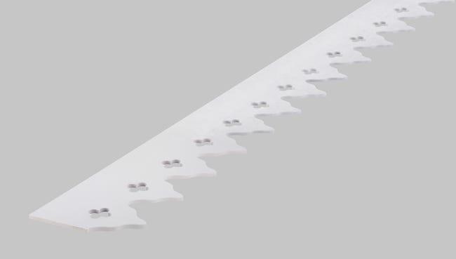 Frise Caire En Pvc Long 198cm Section 180x6mm Leroy Merlin