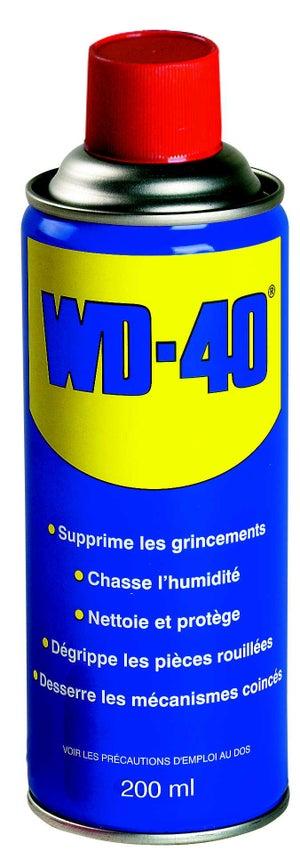 Image : Lubrifiant multifonction en aérosol, 200 ml WD-40