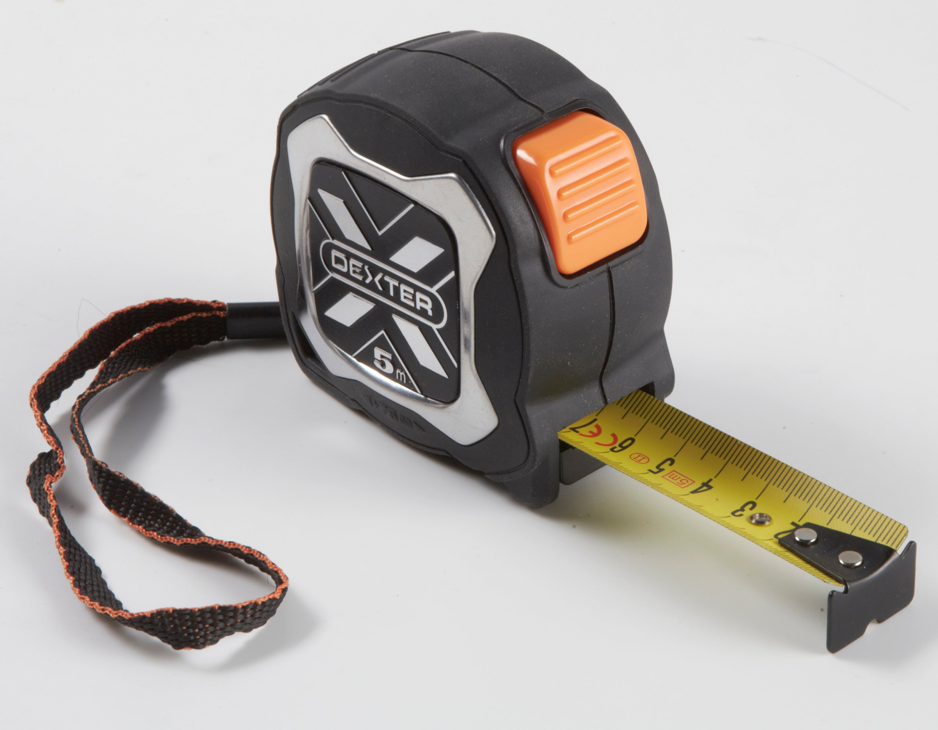 Ruban de mesure en acier 50m mètre à ruban avec manivelle mesurer mètre ruban