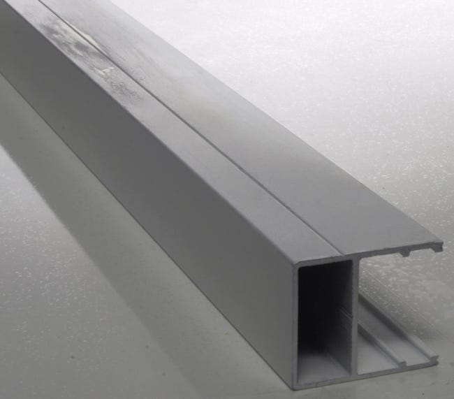 Profil Bordure Pour Plaque Ep 16 Mm Aluminium L 3 M Leroy Merlin