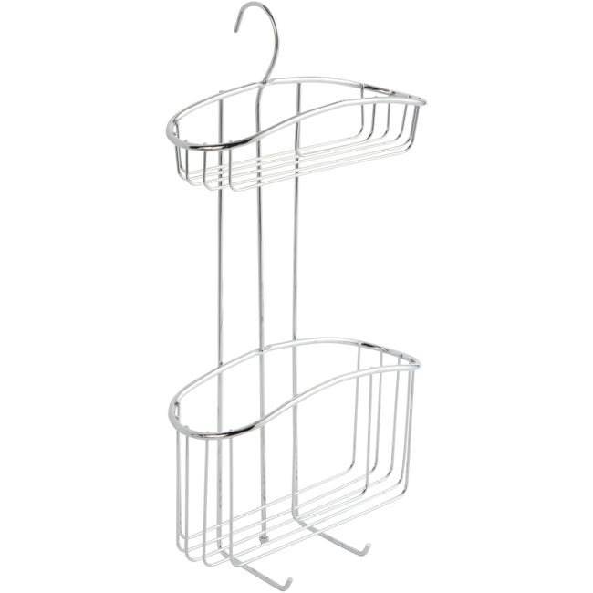 Etagere De Bain Douche A Suspendre Chrome Swing Leroy Merlin