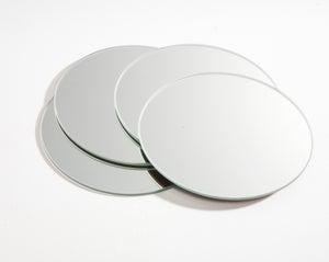 Lot De 4 Miroirs Non Lumineux Adhesifs Ronds L 10 X L 10 Cm Leroy Merlin