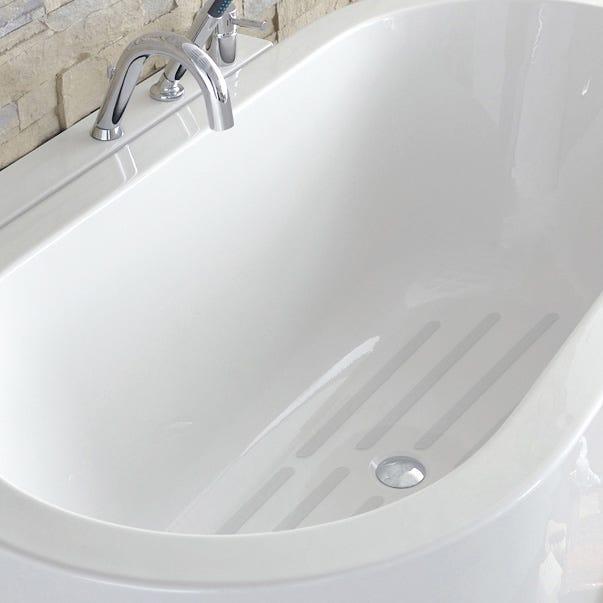Pastilles antidérapantes blanc pour baignoire / douche, Grip   Leroy Merlin