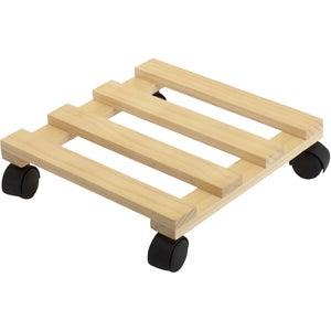 Support roulant de manutention bois