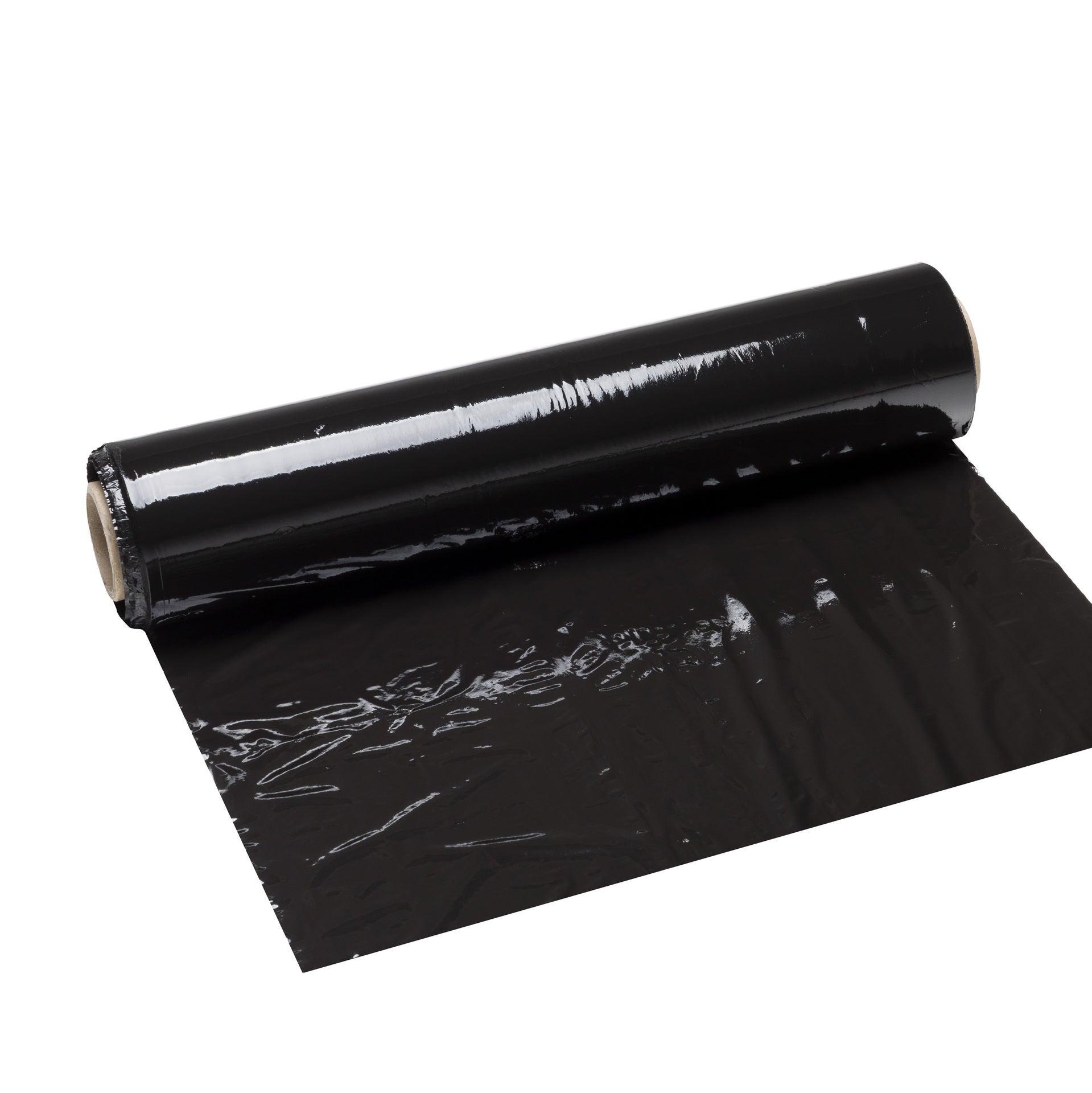 Film étirable Noir L300 M X L45 Cm