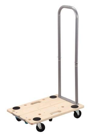Plateau roulant modulable manutention bois, charge supportée 200 kg, WOLFCRAFT