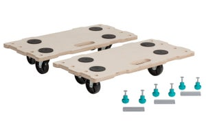 Support roulant de manutention bois, charge supportée 200 kg, WOLFCRAFT