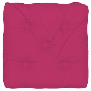 Galette de chaise Elema INSPIRE, rose l.40 x H.40 cm