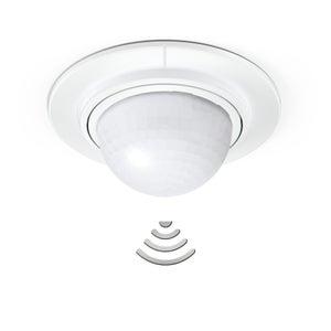 Détecteur de mouvement à encastrer 360 ° blanc STEINEL Is360-1 blanc