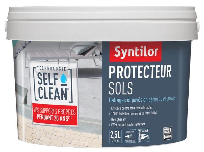 Impermeabilisant Sol Exterieur Self Clean Syntilor Incolore Mat 2 5 L Leroy Merlin