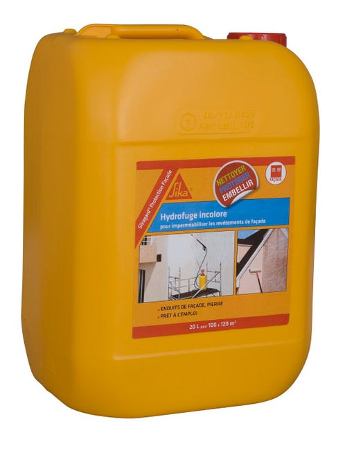 Impermeabilisant Facade Incolore Sika 20 L Leroy Merlin