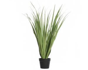 Herbes plastique dans pot 123cm vert