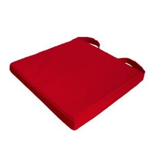Galette de chaise Newmona INSPIRE, rouge l.40 x H.40 cm