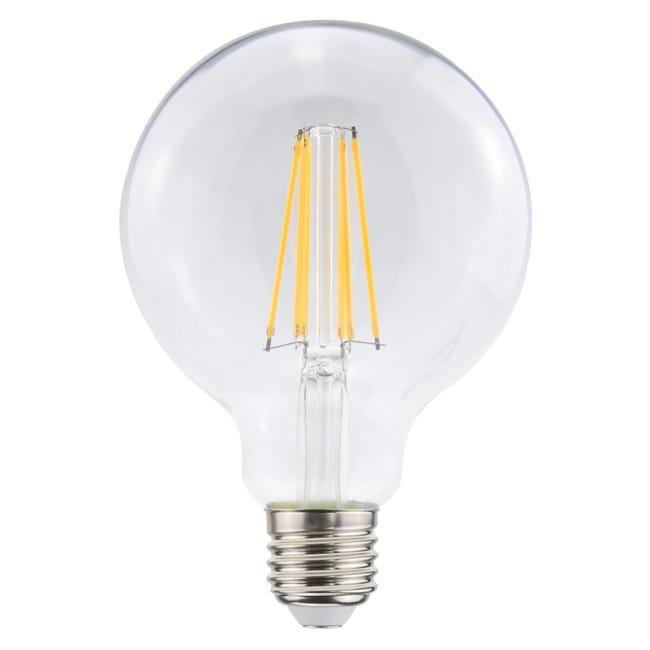 Ampoule Led A Filament Globe 95 Mm E27 1055 Lm 75 W Blanc Neutre Lexman Leroy Merlin
