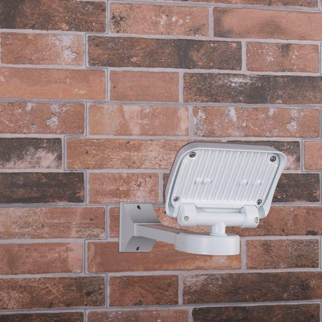 Projecteur Exterieur E27 1100 Lm Blanc Smartwares Leroy Merlin