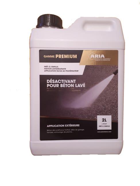 Desactivant Beton Axton 2 L Blanc Leroy Merlin