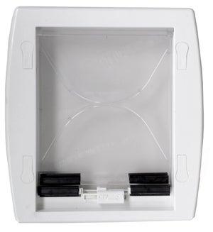 Chatière ABS blanc 23.8 x 19.7 cm