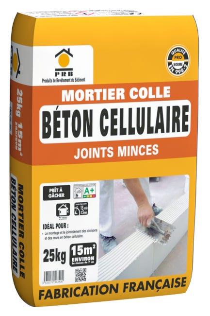 Mortier Colle Poudre Prb Blanc 25 Kg Leroy Merlin