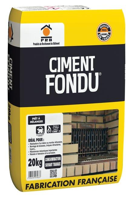 Ciment Gris Refractaire Ce Prb 20 Kg Leroy Merlin