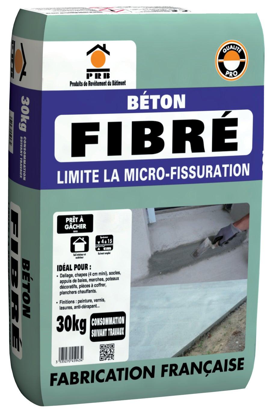 Beton Fibre Prb 30 Kg Leroy Merlin