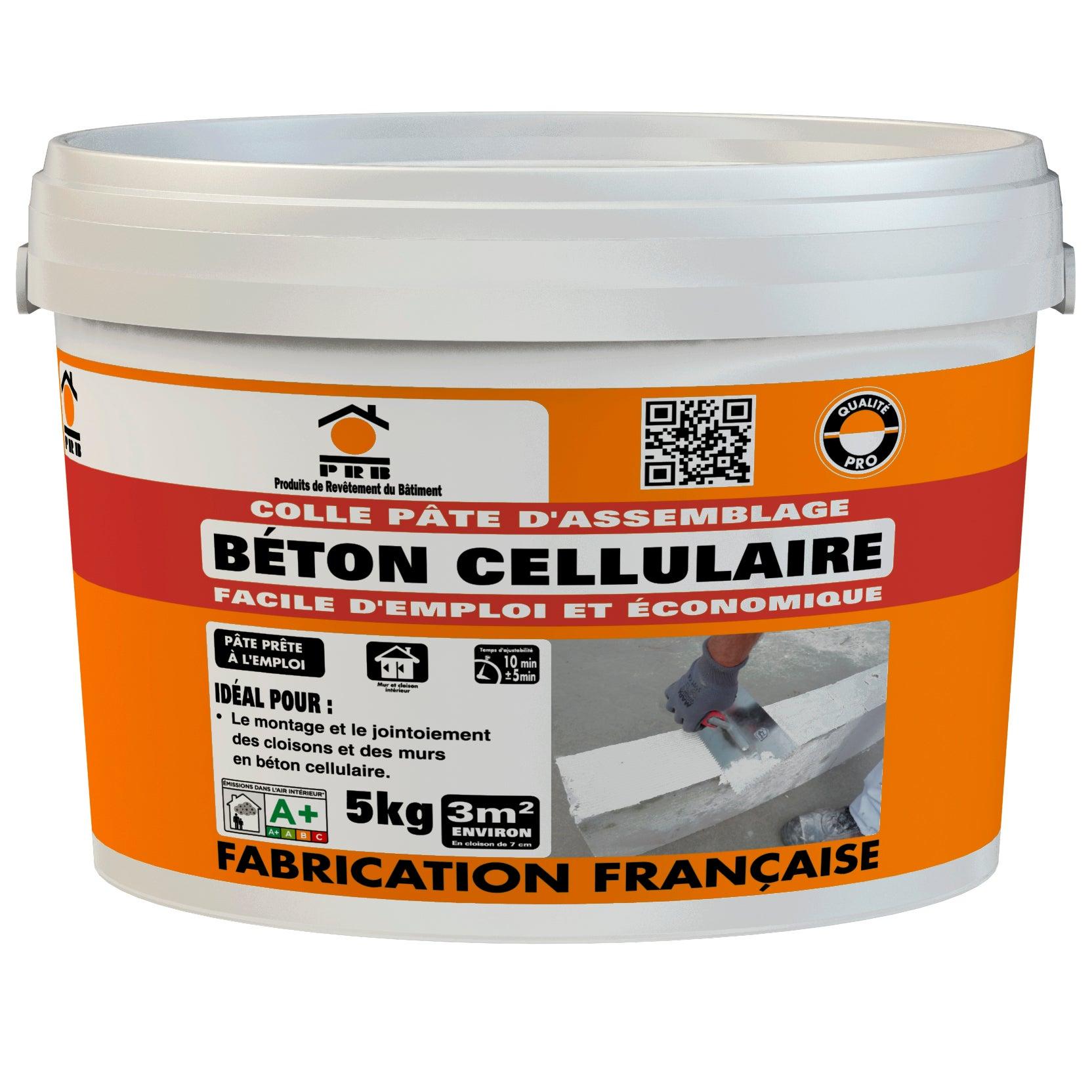 Colle Pour Beton Cellulaire Prb 5 Kg Leroy Merlin