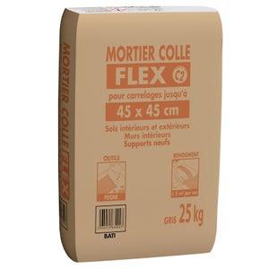 Mortier Colle Flex Special Ceram Pour Carrelage Jusqu A 45 X 45 Cm Gris 25 Kg Leroy Merlin
