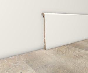 Plinthe parquet et sol stratifié à peindre, L.220 cm x H.130