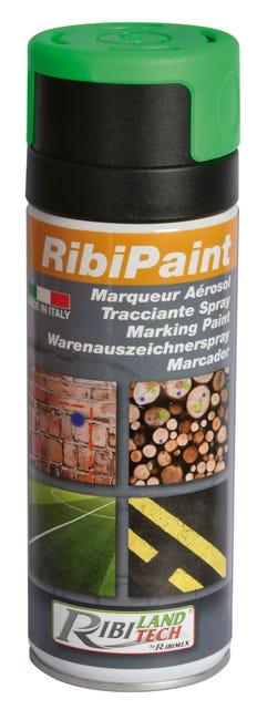 Peinture Specifique Pour Le Marquage De La Maconnerie Ribiland 400ml Vert Leroy Merlin