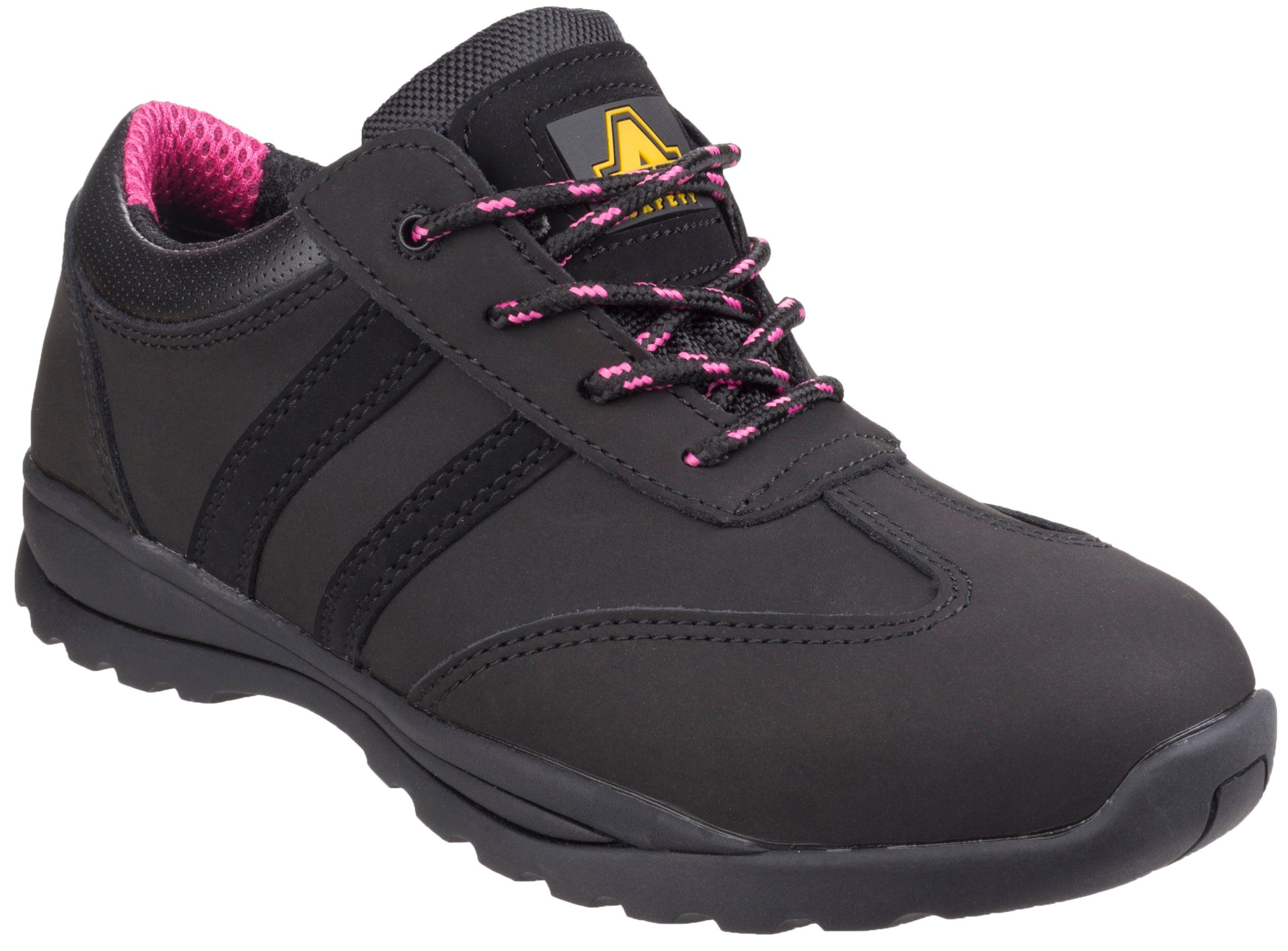 de et T36 basses Sophiecoloris sécurité rose femme Chaussures laçage noir J3cFK1Tl