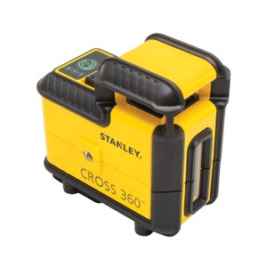 Image : Niveau laser 360° STANLEY Multilignes cross + trepied stht77641-1