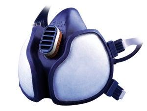 Masque de protection 1/2 masques à cartouches (non interchangeables) catégorie i