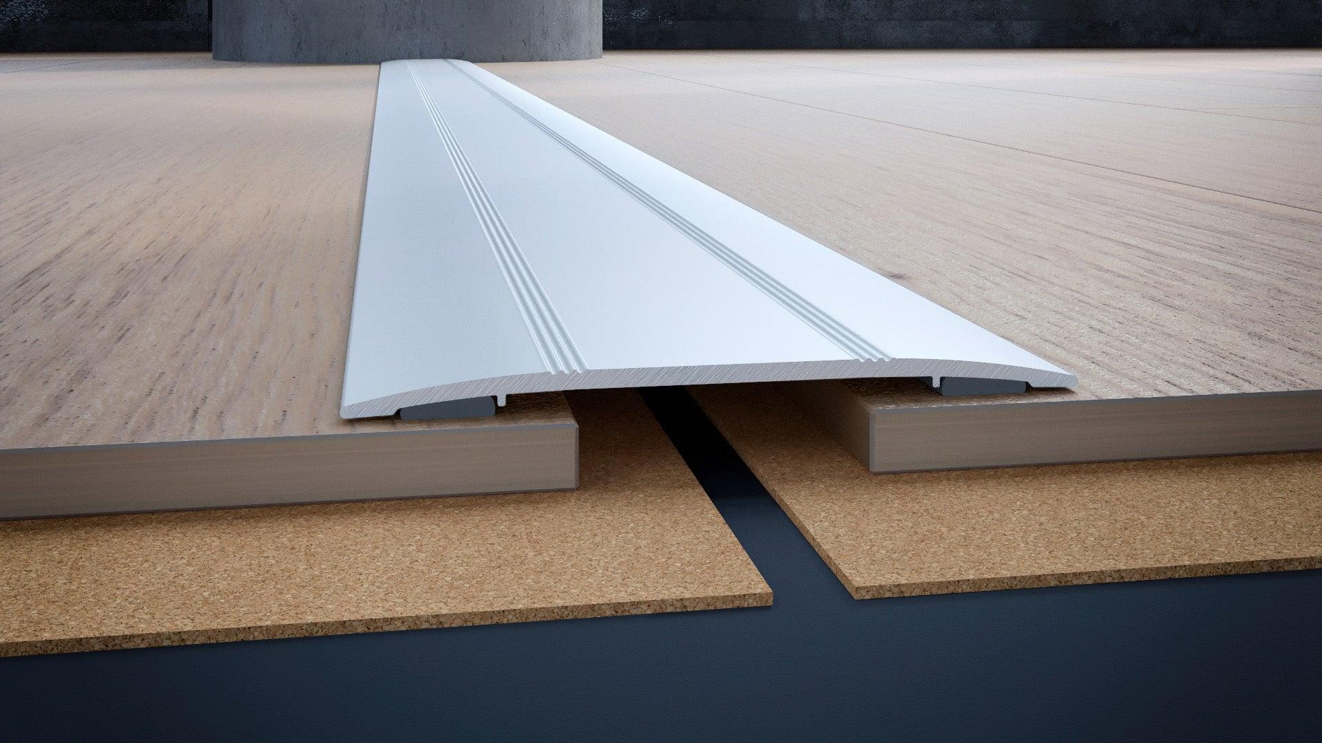 Barre de seuil alu mat, L.270 cm x l.10 mm | Leroy Merlin