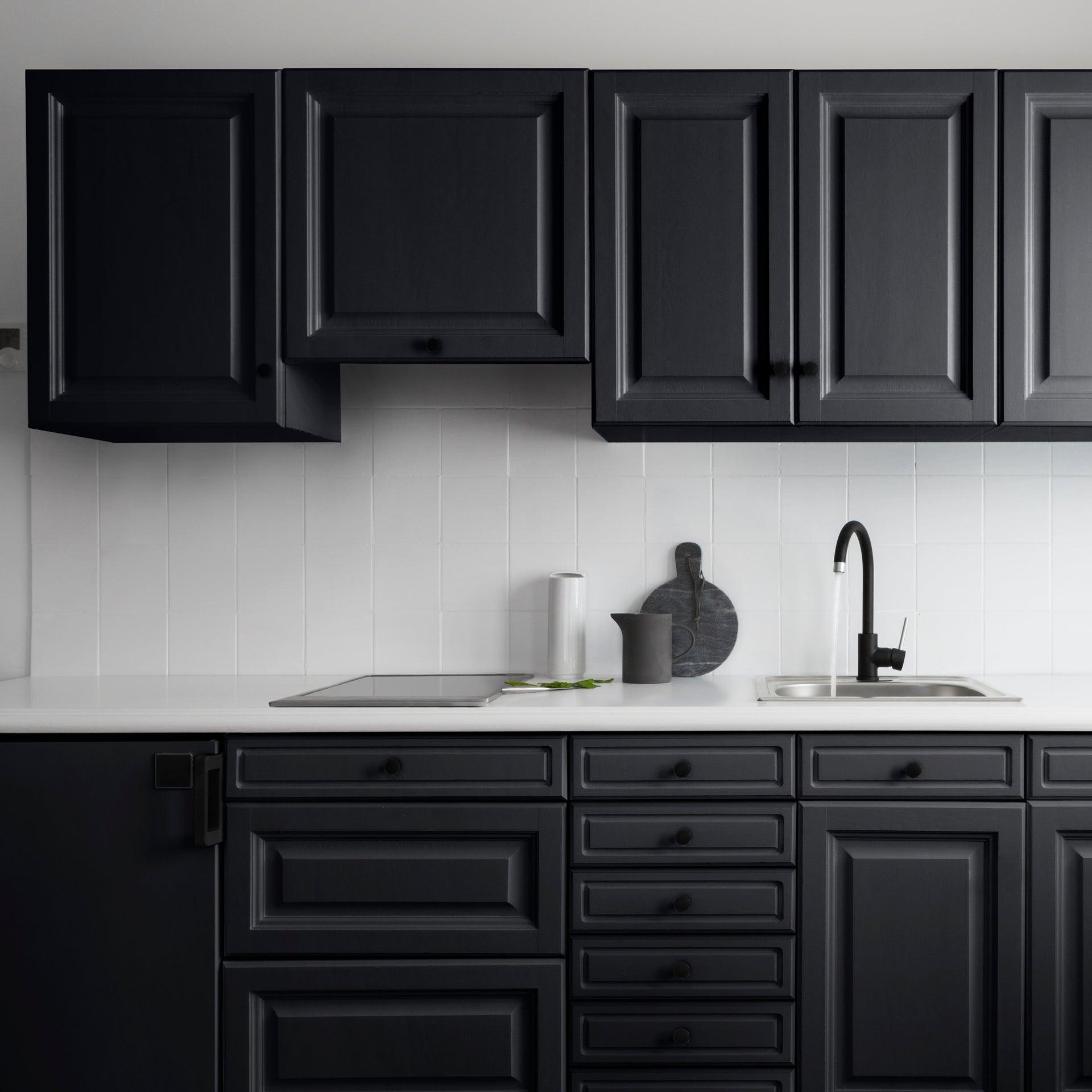 Testeur peinture cuisine meuble et crédence Décolab® V14 noir quartz satiné  14.147