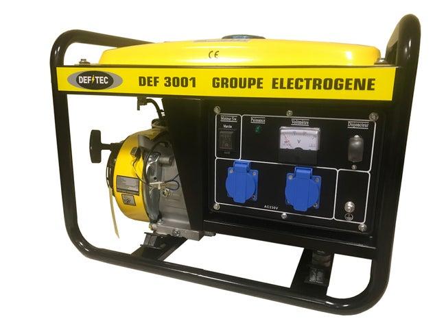 Groupe électrogène Essence Defitec Def3001 2500 W