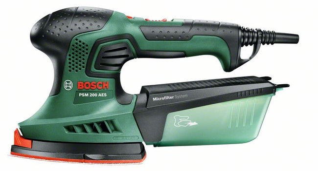 Ponceuse Multifonction Filaire Bosch Psm 200 Aes 200 W