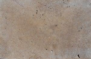 Margelle en pierre naturelle beige/marron, L.61 x l.33 x Ep.3 cm