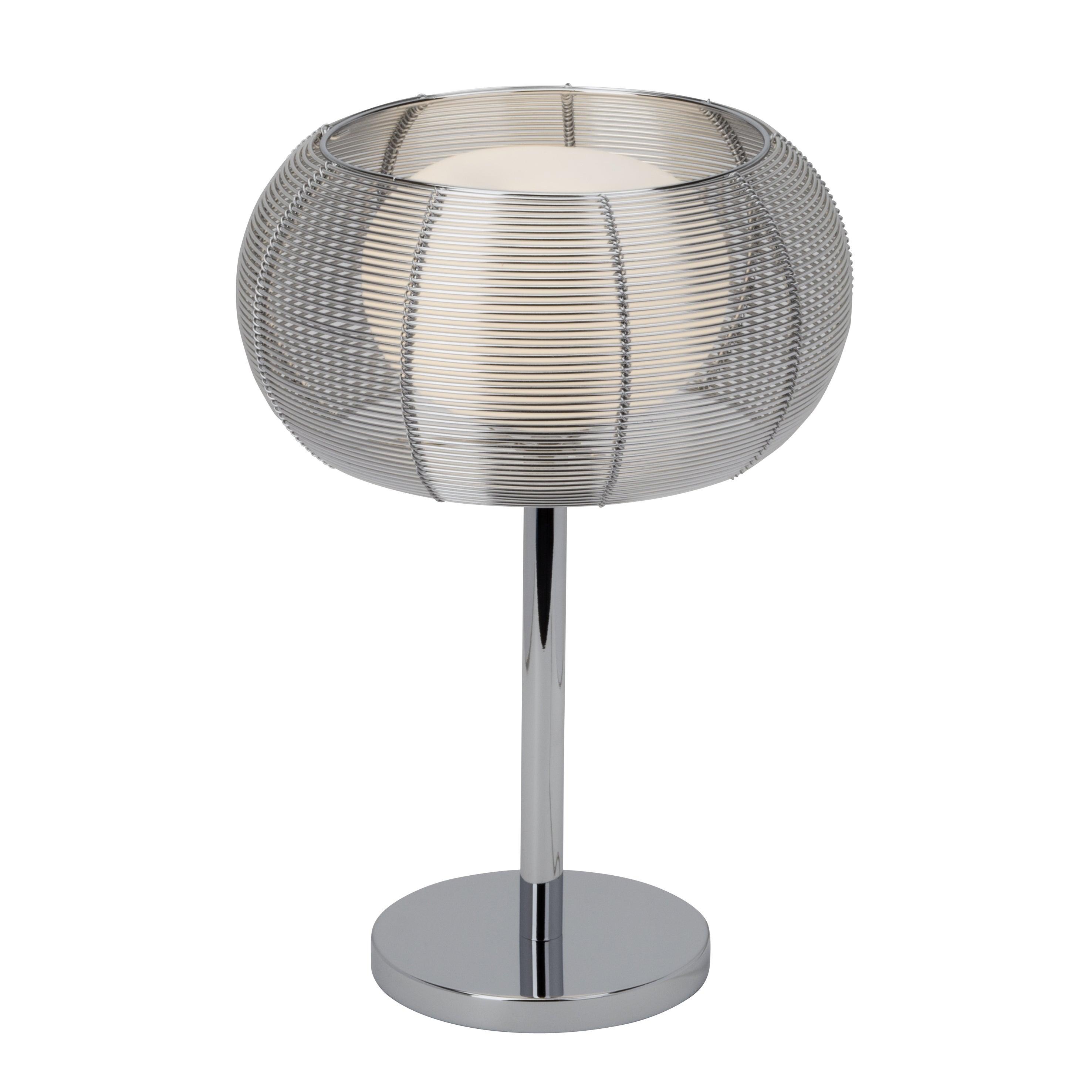 Lampe métal bronzechrome, BRILLIANT Relax