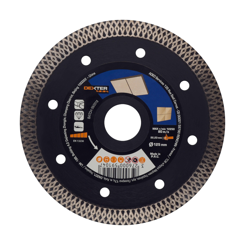 feeilty Outil de forage diamant pour carrelage en c/éramique grande roue coupe-carreaux en verre durable multifonction