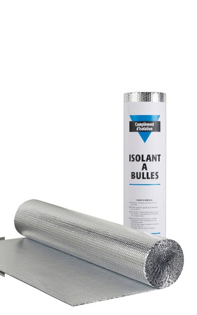 Rouleau Isolant Mince A Bulle Actis 10 X 1 5 M Ep 3 5 Mm Leroy Merlin