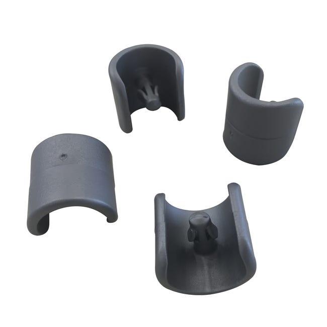 Kit De 4 Patins De Protection En Polypropylene Lafuma Pour Transats Et Relaxes Leroy Merlin