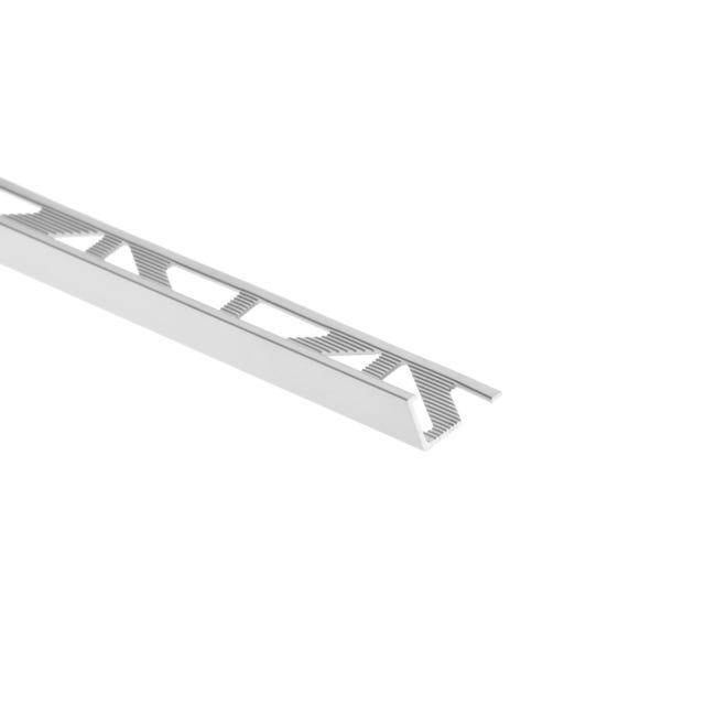 Equerre De Finition Carrelage Mur Et Sol Argent Mat Aluminium L 250 Cm X Ep 10mm Leroy Merlin