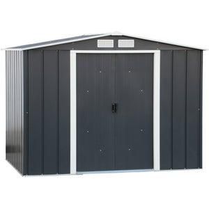 Image : Abri de jardin acier DURAMAX Eco Ep.0.33 mm, 4.3 m²
