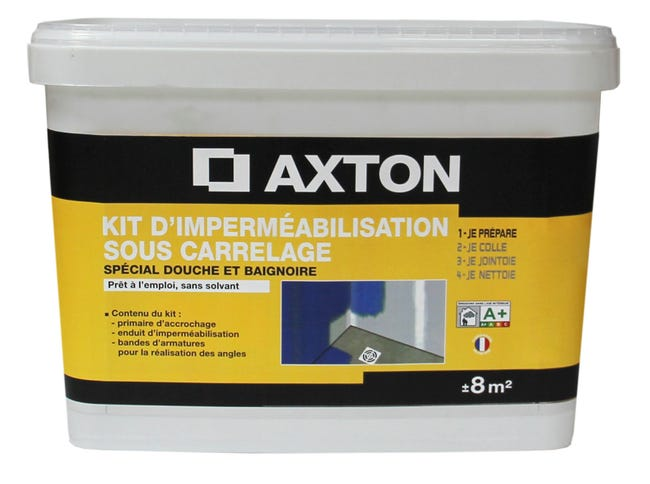 Kit Impermeabilisation Axton 8 Kg Leroy Merlin
