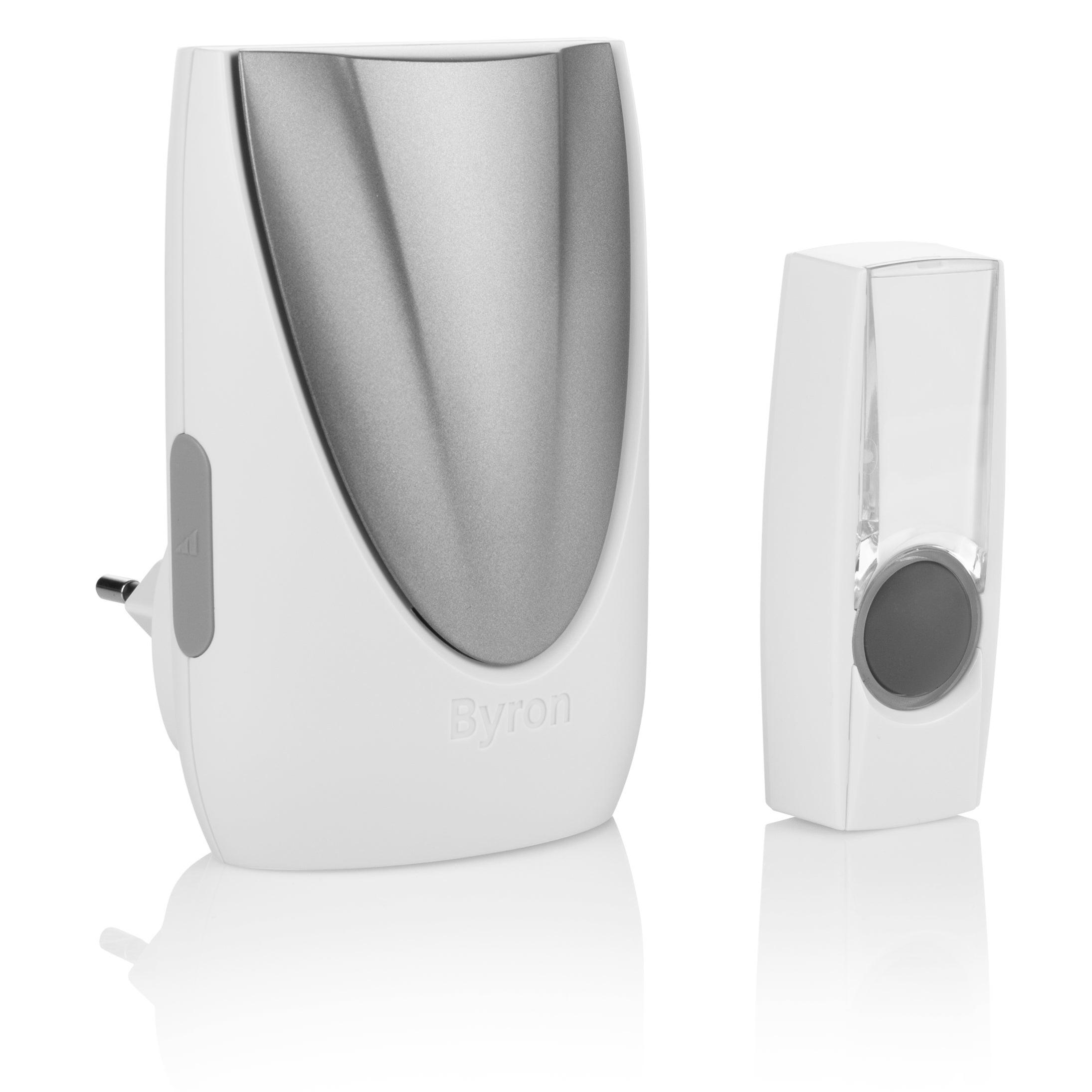 Blanc Avidsen 102336 Kit Carillon sans Fil White Snow