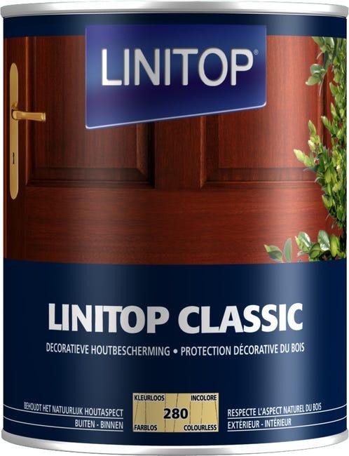 Lasure Linitop Classic Incolore Satine 1 L Leroy Merlin