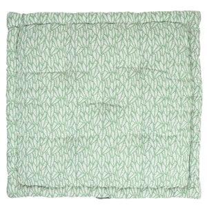 Coussin de sol Laura, vert pâle l.60 x H.60 cm