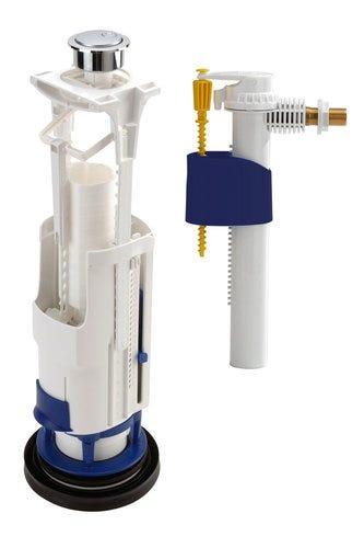 Mecanisme Complete A Etrier A Double Poussoir Robinet A Fleur 0703121 Nicoll Leroy Merlin