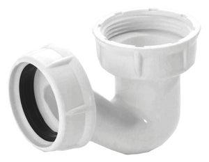 Siphon pour baignoire forme p11/2, blanc, 0203011, NICOLL
